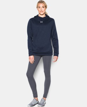 Women's UA Armour® Fleece Textured Hoodie LIMITED TIME: FREE U.S. SHIPPING 1 Color $64.99