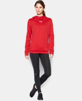 Women's UA Armour® Fleece Textured Hoodie  5 Colors $64.99
