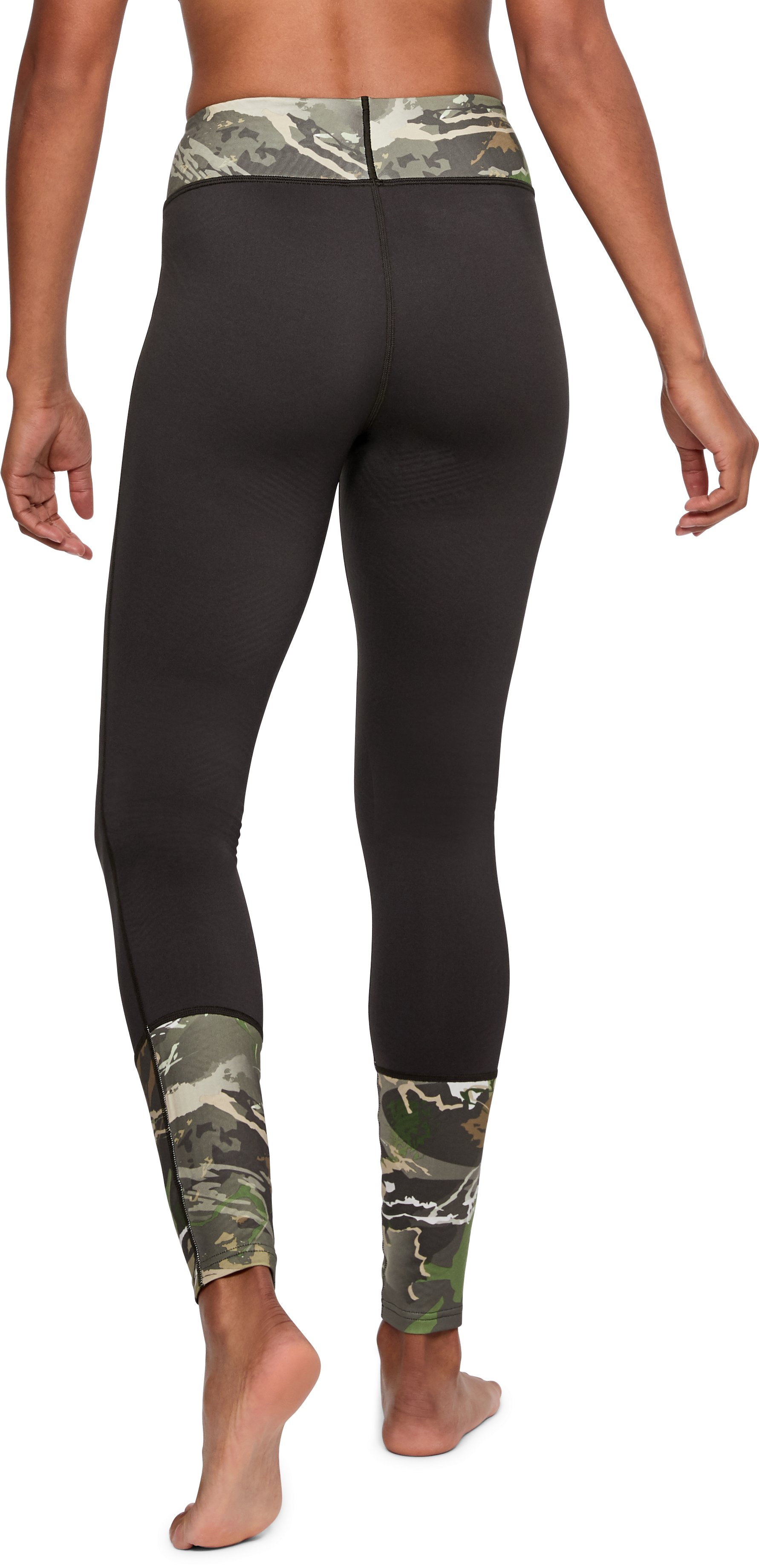 Women's UA Tevo Leggings, RIDGE REAPER® FOREST, undefined