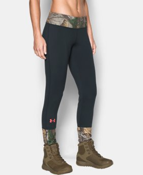 New to Outlet Women's UA Tevo Leggings LIMITED TIME OFFER + FREE U.S. SHIPPING 1 Color $56.24