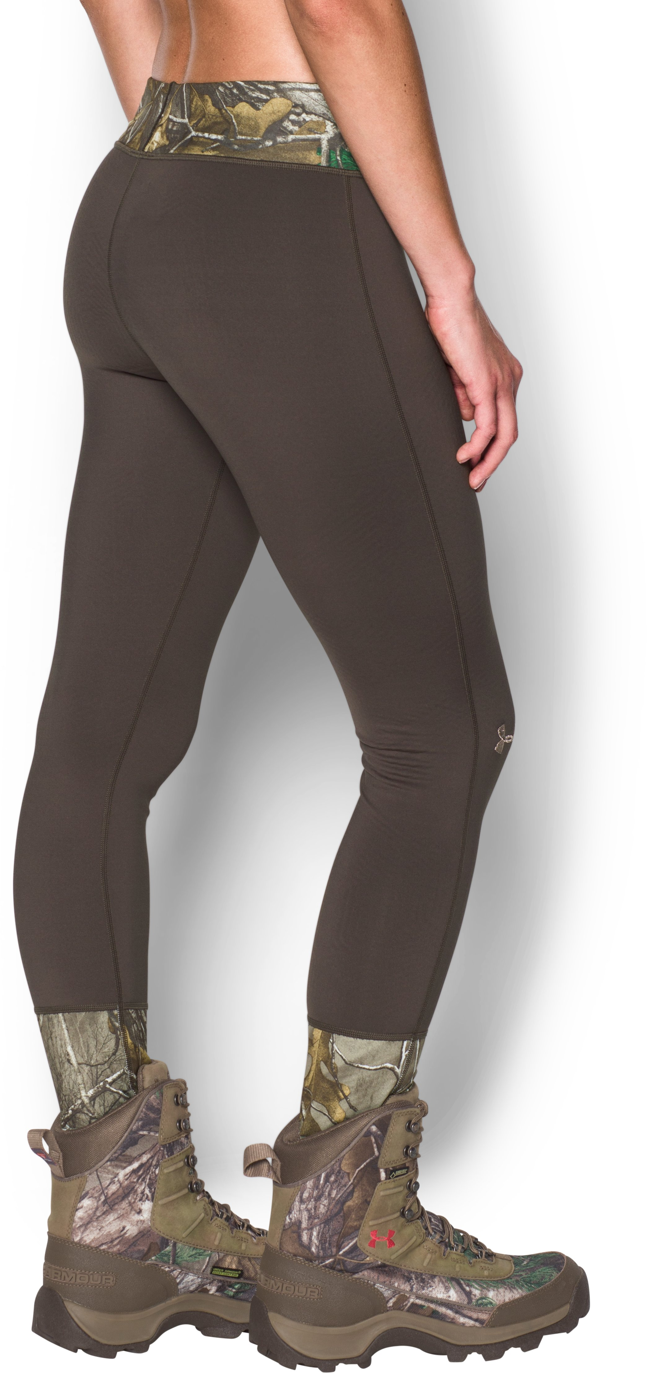 Women's UA Tevo Leggings, REALTREE AP-XTRA, zoomed image