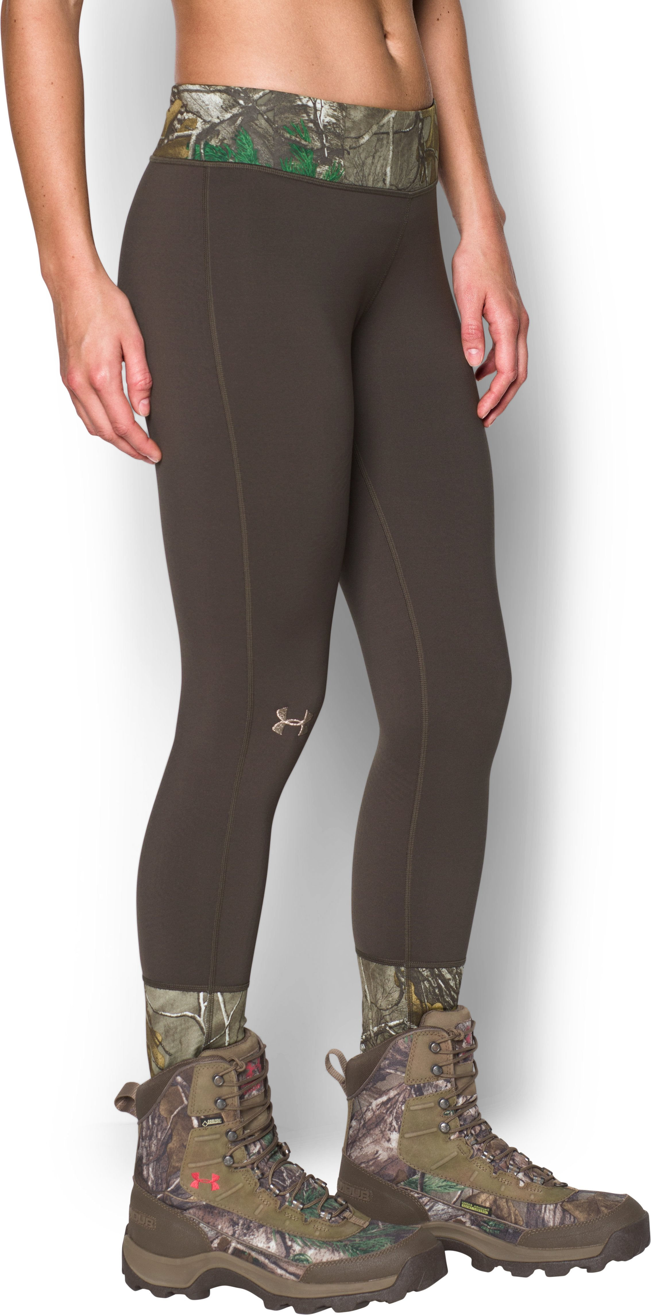 Women's UA Tevo Leggings, REALTREE AP-XTRA