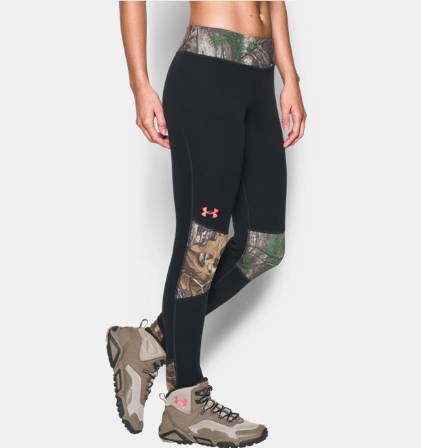 Realtree Camo Yoga Shorts Color Options By Girlswithguns22: Women's UA Extreme Base Leggings