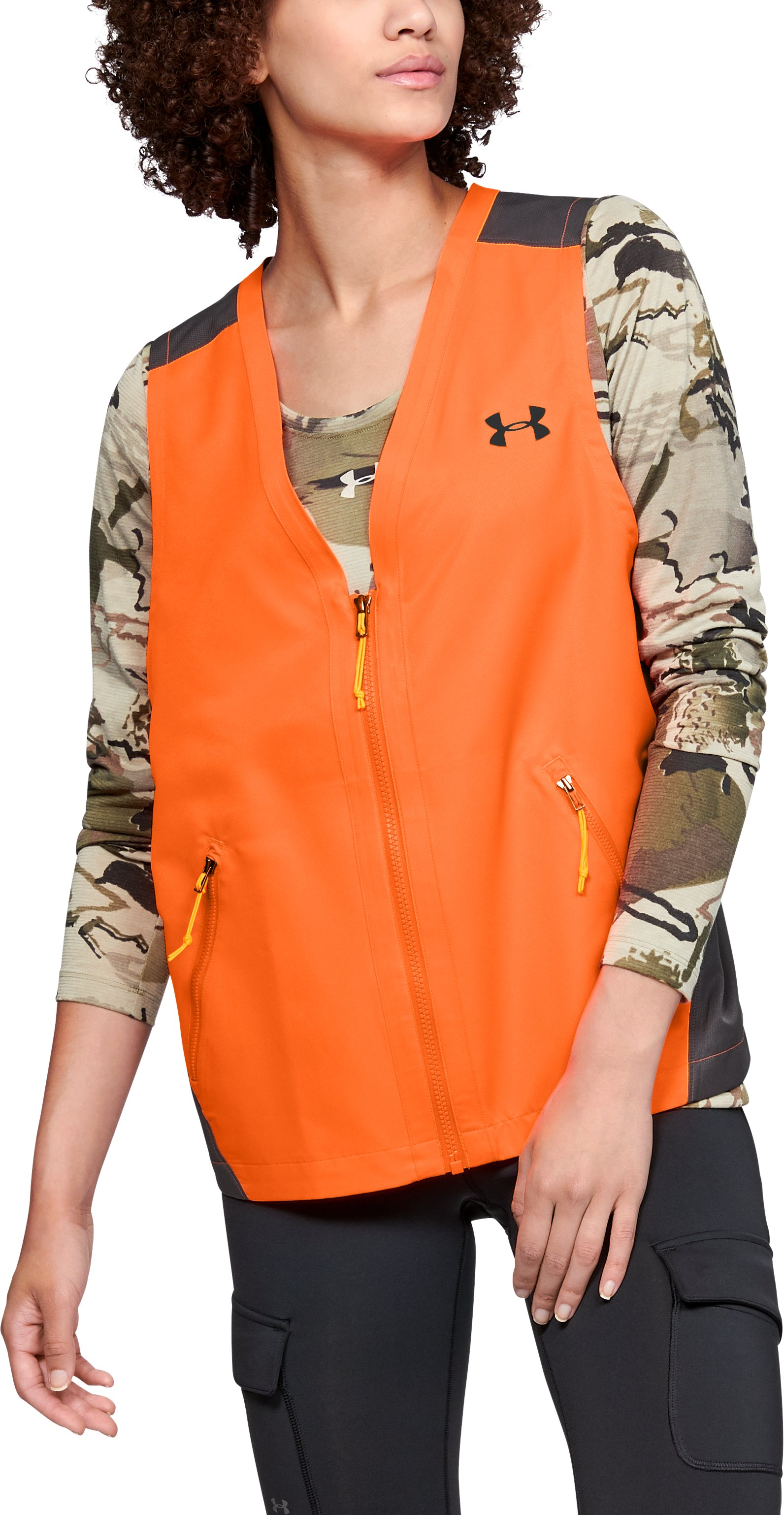 Women's UA Blaze Vest, Blaze Orange