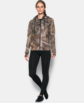 Women's UA Icon Camo Full Zip Hoodie  1 Color $71.24