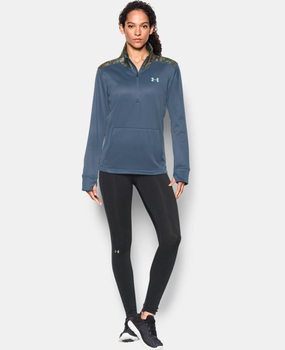 Women's UA Storm Caliber 1/2 Zip  1 Color $56.24