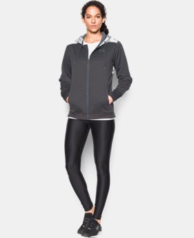 New Arrival  Women's UA Storm Caliber Full Zip Hoodie LIMITED TIME: FREE SHIPPING 1 Color $71.99