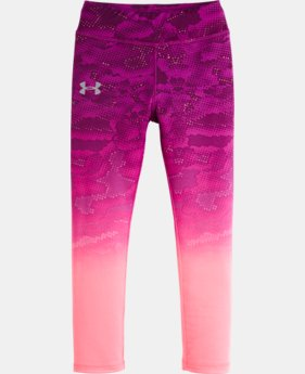 Girls' Pre-School UA Gradient Night View Legging