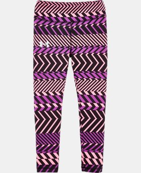 Girls' Toddler UA Zig Zag Leggings