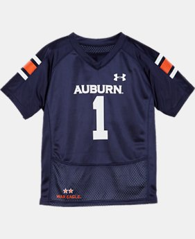 Kids' Toddler UA Auburn Replica Jersey