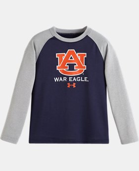 Boys' Pre-School UA Auburn Raglan Long Sleeve
