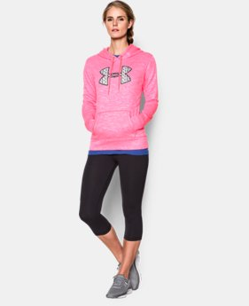 Women's UA Armour® Fleece Big Logo Twist Hoodie