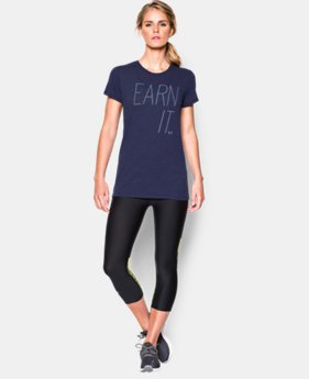 Women's UA Earn It Tri-Blend T-Shirt