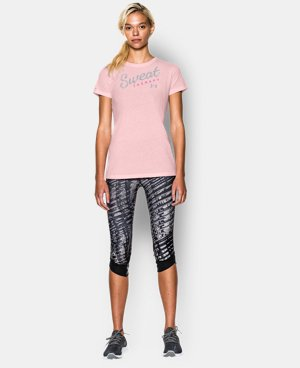 Women's UA Sweat Therapy Tri-Blend T-Shirt  1 Color $24.99
