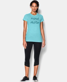 Women's UA Mind Over Matter Tri-Blend T-Shirt  1 Color $18.99