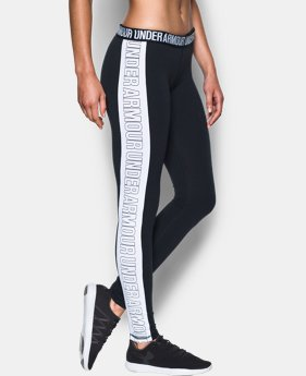 New Arrival  Women's UA Favorite Split Word Mark Legging  LIMITED TIME: FREE SHIPPING 1 Color $44.99