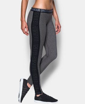 Women's UA Favorite Split Word Mark Leggings  1 Color $37.99