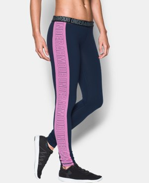 Women's UA Favorite Split Word Mark Legging  LIMITED TIME: FREE U.S. SHIPPING 1 Color $37.99 to $49.99