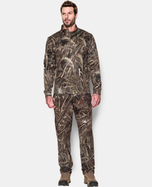 Men's UA Deadload Camo Field Pants  1 Color $86.24