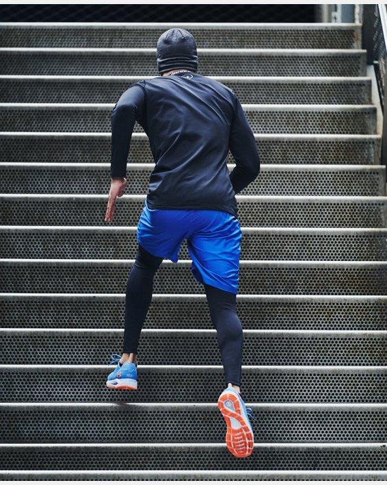 Men's ColdGear® Armour Leggings, Black, pdpMainDesktop image number 5