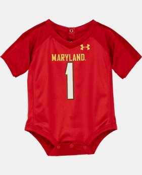 Boys' Newborn Maryland Replica Jersey Bodysuit LIMITED TIME: FREE U.S. SHIPPING 1 Color $25.99
