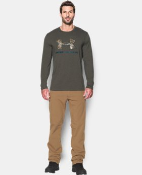 Men's UA Camo Logo Long Sleeve T-Shirt  1 Color $29.99
