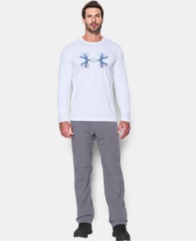 New Arrival  Men's UA Antler Logo Long Sleeve T-Shirt   $34.99