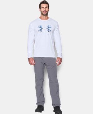 Men's UA Antler Logo Long Sleeve T-Shirt  4 Colors $34.99