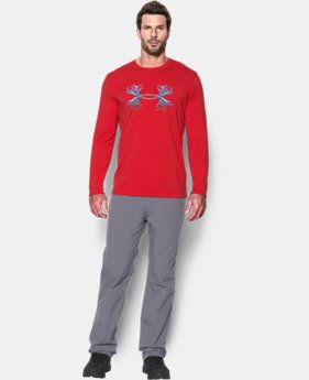 Men's UA Antler Logo Long Sleeve T-Shirt LIMITED TIME: FREE SHIPPING  $29.99