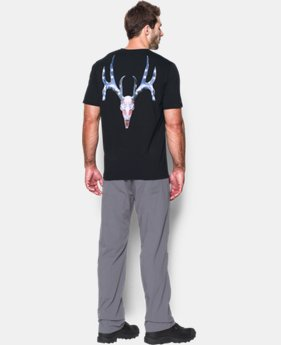 Men's UA Whitetail Skull T-Shirt  1 Color $18.99 to $24.99