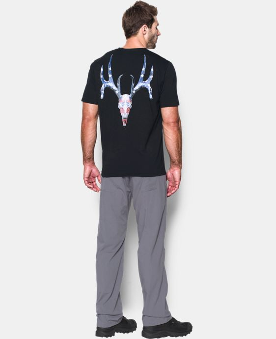 Men's UA Whitetail Skull T-Shirt   $24.99