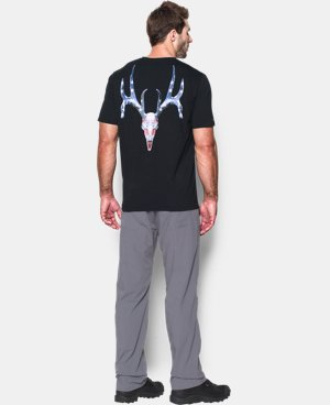 Men's UA Whitetail Skull T-Shirt  1 Color $24.99