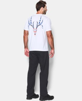 Men's UA Whitetail Skull T-Shirt  1 Color $18.99