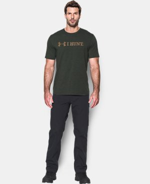 Men's UA I HUNT T-Shirt LIMITED TIME: FREE U.S. SHIPPING 2 Colors $18.99 to $24.99