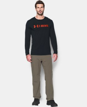 New Arrival  Men's UA I HUNT Long Sleeve T-Shirt LIMITED TIME: FREE SHIPPING 1 Color $34.99