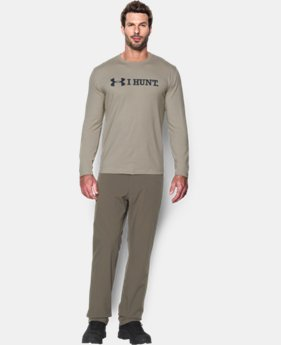 Men's UA I HUNT Long Sleeve T-Shirt LIMITED TIME: FREE U.S. SHIPPING 2 Colors $22.99 to $29.99