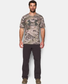 Men's UA Big Logo Camo Tech™ T-Shirt  2 Colors $39.99