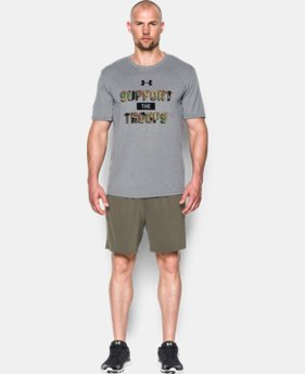 New Arrival Men's UA Freedom Support The Troops T-Shirt  1 Color $27.99