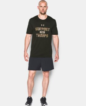 Men's UA Freedom Support The Troops T-Shirt LIMITED TIME: FREE SHIPPING 1 Color $27.99