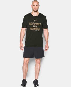 Men's UA Freedom Support The Troops T-Shirt  2 Colors $27.99
