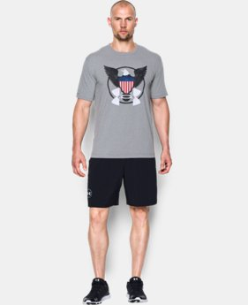 Men's UA Freedom USA Eagle T-Shirt  3 Colors $14.24