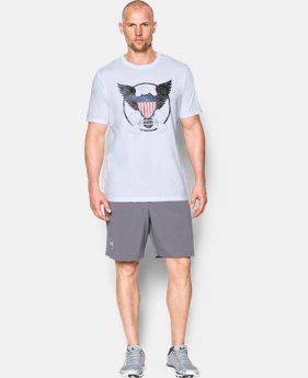 Men's UA Freedom USA Eagle T-Shirt  1 Color $14.24