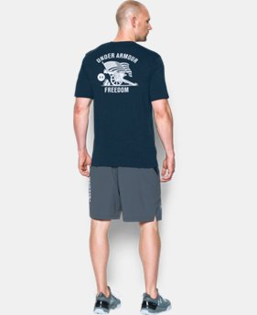 New Arrival Men's UA Freedom Cannon T-Shirt LIMITED TIME: FREE SHIPPING 2 Colors $24.99
