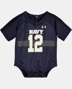Boys' Newborn Navy Replica Jersey Bodysuit   $25.99