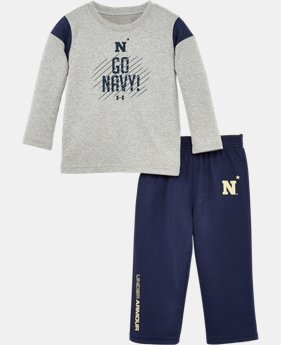 Kids' Toddler Navy Go Navy Pant Set