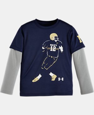Boys' Infant Navy Football Player Slider LIMITED TIME: FREE U.S. SHIPPING  $23.99