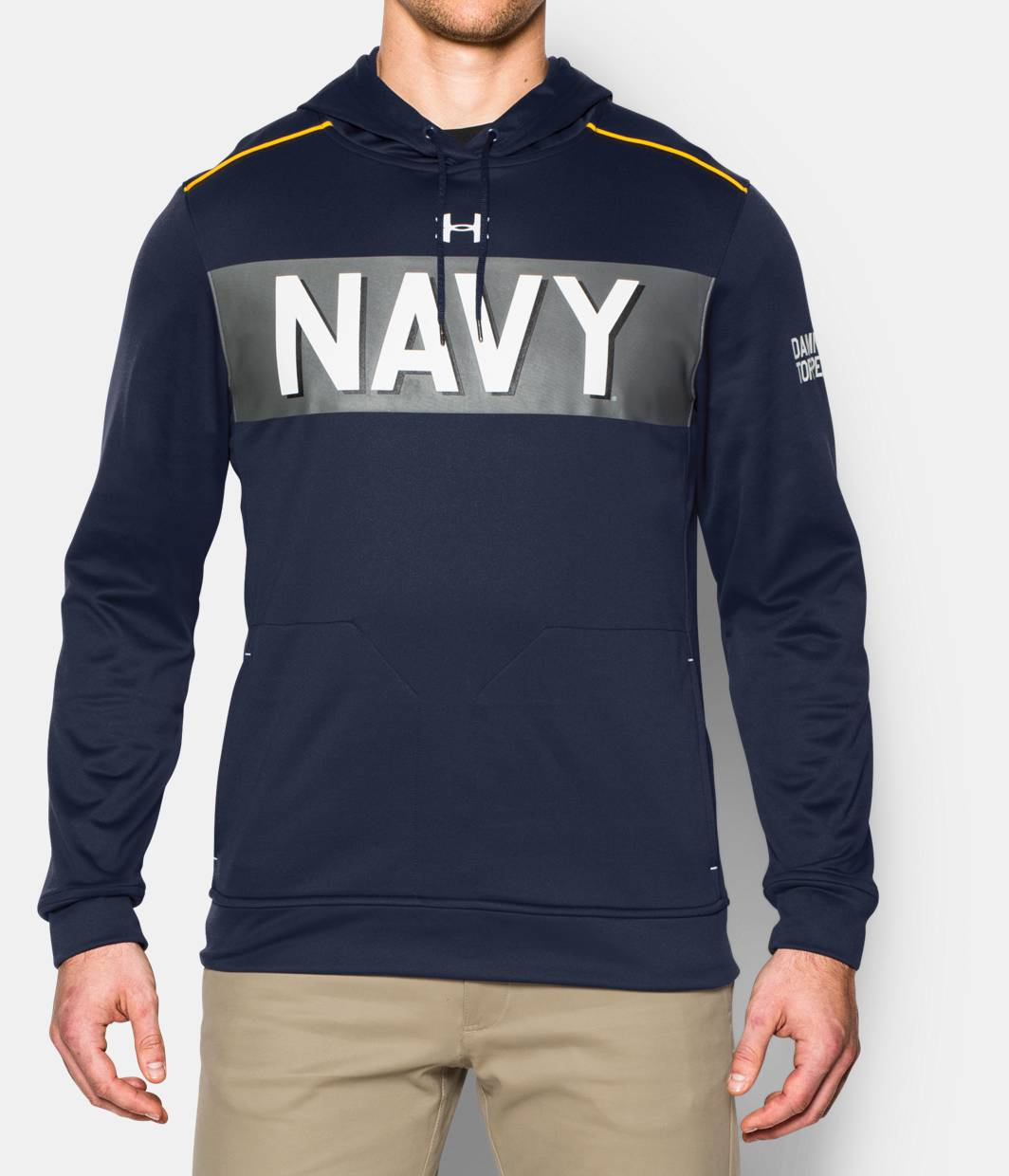 Men's Navy UA Damn The Torpedoes Hoodie | Under Armour US