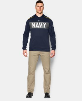 Men's Navy UA Damn The Torpedoes Hoodie