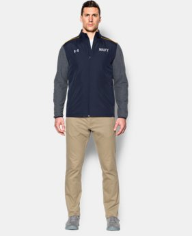 Men's Navy UA Damn The Torpedoes Jacket  1 Color $97.99