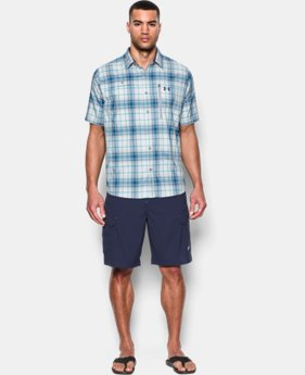 Men's UA Tide Swing Plaid Short Sleeve Shirt  4 Colors $69.99